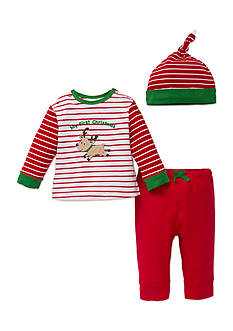 Little Me Christmas Jogger Set