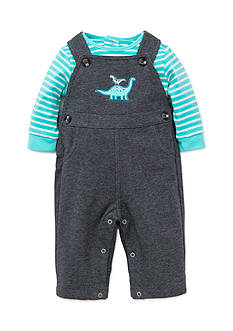 Little Me 2-Piece Dinosaur Tunic and Overall Set