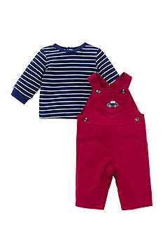 Little Me 2-Piece Car Tunic and Overall Set