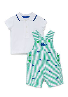 Little Me Whales Shortall Set