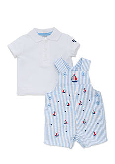 Little Me Sailboat Shortall Set