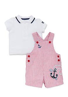 Little Me Nautical Shortall Set