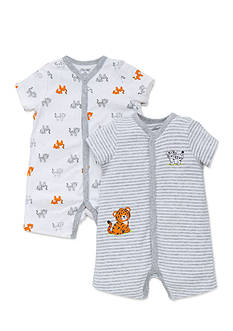 Little Me 2-Pack Tiger Romper Set