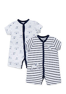 Little Me 2-Pack Puppies Romper