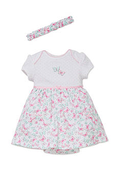Little Me 2-Piece Butterfly Dress and Headband Set