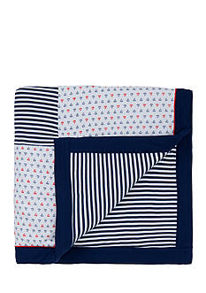 Little Me Sailboat Printed Blanket