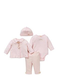 Little Me 4-Piece Bodysuit, Tunic, Hat And Legging Set