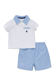 Little Me Simple Sailor Short Set