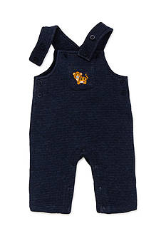 Little Me 2-Piece Tiger Top and Overall Set