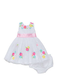 Little Me Colorful Flower Dress Set