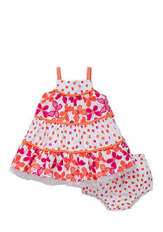 Little Me 2-Piece Butterfly Dress and Bloomer Set