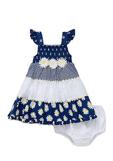 Little Me 2-Piece Daisy Sundress and Bloomer Set