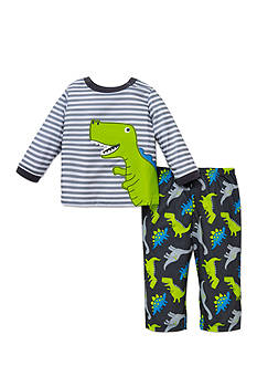 Little Me 2-Piece Dinosaur Print Pajama Set