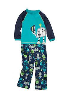 Little Me 2-Piece Robot Pajama Set Toddler Boys