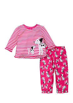Little Me 2-Piece Dog Pajama Set