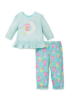 Little Me 2-Piece Owl Pajama Set