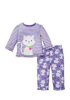 Little Me 2-Piece Cat Pajama Set