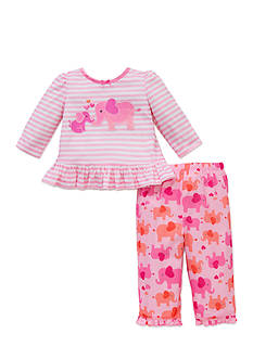 Little Me 2-Piece Elephant Pajama Set