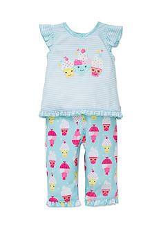 Little Me Icecream 2-Piece Pajama Set Toddler Girls
