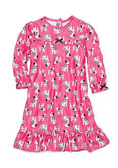 Little Me Dalmatian Gown Toddler Girls