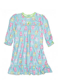 Little Me Owl Gown Toddler Girls