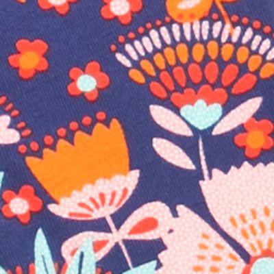 Baby Casual Wear for Girls: Blue Nursery Rhyme Printed Legging