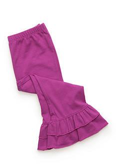 Nursery Rhyme Solid Ruffled Leggings Baby/Infant Girls