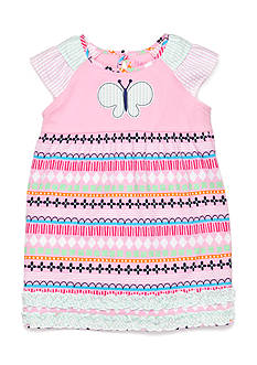 Nursery Rhyme Play™ 2-Piece Ruffle Sleeve Butterfly Dress and Bloomer Set