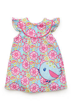 Nursery Rhyme Play™ 2-Piece Paisley Bird Dress and Bloomer Set