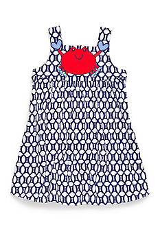 Nursery Rhyme Play™ 2-Piece Crab Dress and Bloomer Set