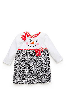 Nursery Rhyme Patterned Snowgirl Dress
