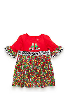 Nursery Rhyme Empire Waist Printed Dress