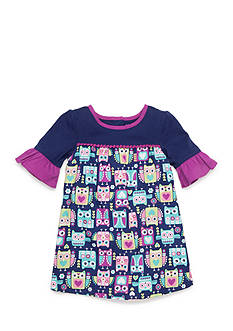 Nursery Rhyme Printed Knit Dress Infant/Baby Girls