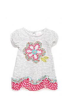 Nursery Rhyme Ruffled Short Sleeve Top