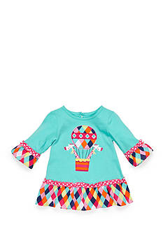 Nursery Rhyme® 3/4 Sleeve Ruffle Top