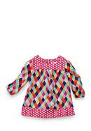 Nursery Rhyme® Mixed Print Woven Top