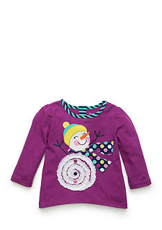 Nursery Rhyme Jersey Knit Print Top Baby/Infant Girl