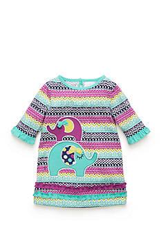 Nursery Rhyme Elephant Ruffle Dress