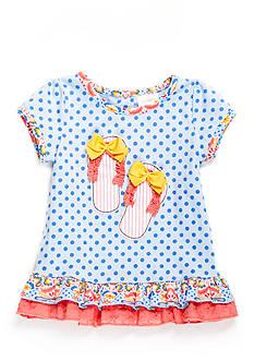 Nursery Rhyme Ruffle Babydoll Top