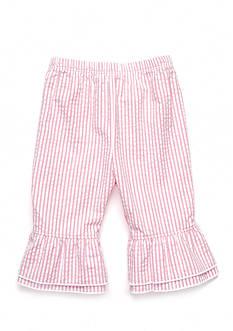 Nursery Rhyme Woven Ruffle Capri Pants