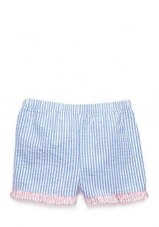 Nursery Rhyme Woven Ruffle Shorts