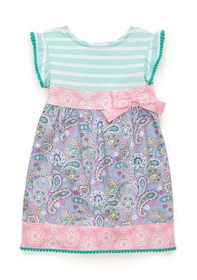 Nursery Rhyme® Printed Bow Dress