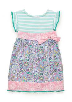 Nursery Rhyme Printed Bow Dress