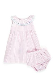 Nursery Rhyme Seersucker Dress