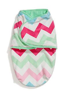 Nursery Rhyme Multi Chevron Baby Swaddle Blanket