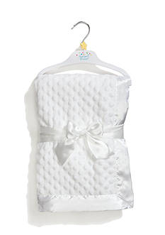Nursery Rhyme® Embossed Blanket with Satin Trim
