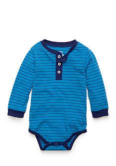 Nursery Rhyme Stripe Henley Bodysuit