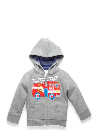 Nursery Rhyme Play™ Fire Truck Hooded Jacket Toddler Boys