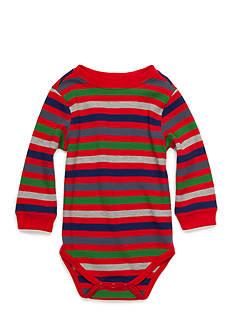 Nursery Rhyme Striped Thermal Bodysuit Infant/Baby Boys