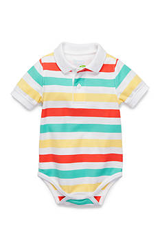 Nursery Rhyme® Striped Polo Bodysuit